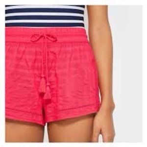 Coral Cotton Shorts